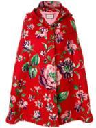 Gucci Floral Embroidered Cape