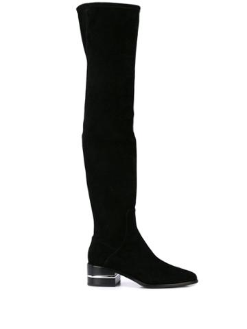 Paige Jacey Thigh High Boots - Black