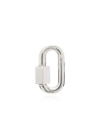 Marla Aaron Chubby Baby Lock Charm - Metallic