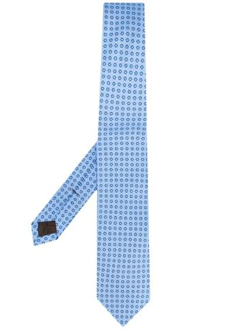 Church's Micro-pattern Tie - Blue