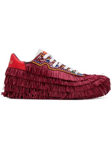 Philippe Model Tropez Limited Stella Jean Sneakers - Red
