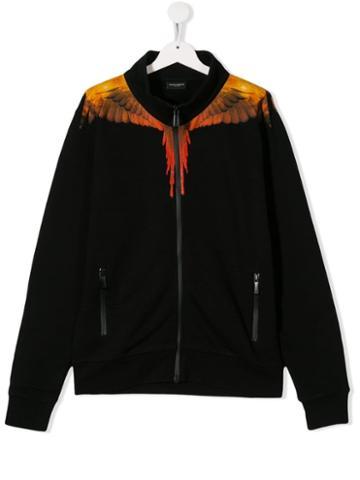 Marcelo Burlon County Of Milan Kids Teen Wings Track Jacket - Black