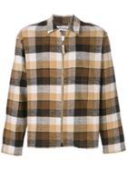 Très Bien Plaid Zip Jacket - Brown