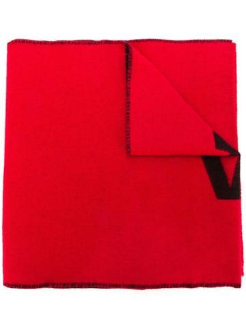 Balenciaga Balenciaga Macro Scarf - Red