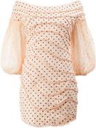 Zimmermann Polka Dots Mini Dress - Pink & Purple