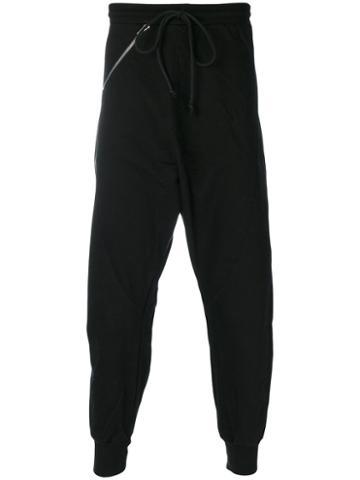 Lost & Found Rooms - Over Drop-crotch Trousers - Men - Cotton/spandex/elastane - L, Black, Cotton/spandex/elastane