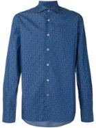 Borriello Floral Shirt - Blue