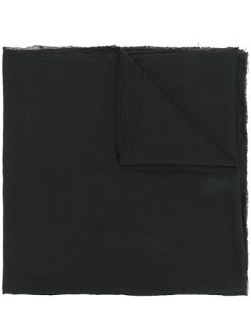 Lost & Found Ria Dunn Print-detail Scarf - Black
