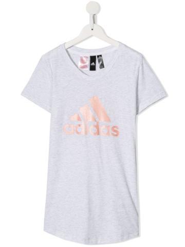 Adidas Kids Teen Winner T-shirt - Grey