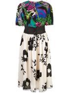 Rentrayage Dragon Lady Dress - Multicolour