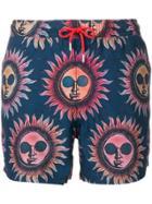 Paul Smith Sun Print Swimming Shorts - Multicolour