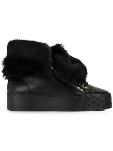 Blumarine Blumarine U5360fc Black Calf Leather
