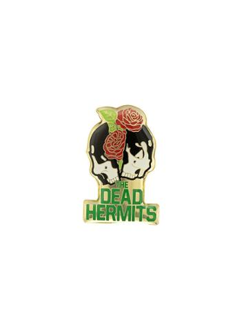 Undercover The Dead Hermits Pin - Gold