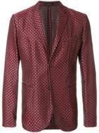 Emporio Armani Patterned Tailored Blazer