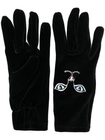 Vivetta Cat Gloves - Black