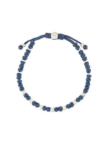 Tateossian Knot Bracelet - Blue