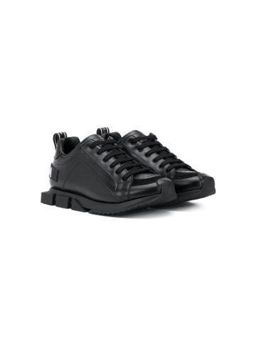Dolce & Gabbana Kids Chunky Sole Sneakers - Black