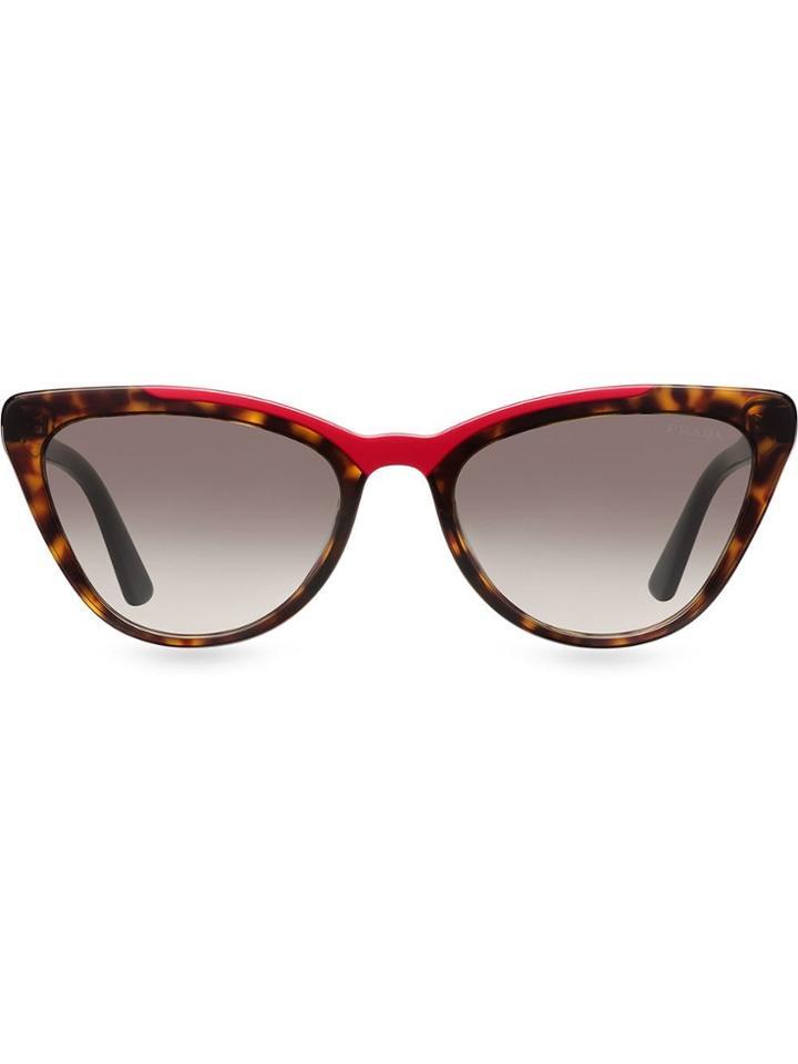 Prada Eyewear Ultravox Sunglasses - Brown