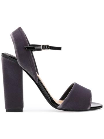 The Seller Classic High Sandals - Grey