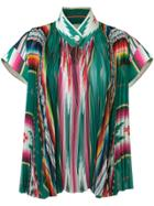 Sacai Pleated Top - Multicolour