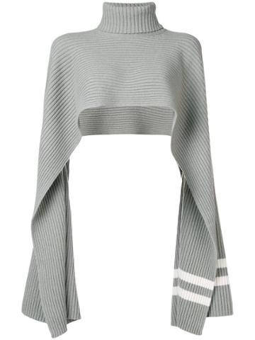 Mrz Shawl Scarf - Grey