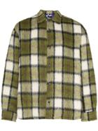 Duo Oversized Checked Shirt - Green