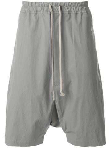 Rick Owens Drkshdw Casual Track Shorts - Grey