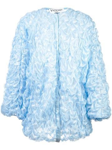 Vionnet Vionnet Cpvai18007 Oxygen Blue Silk/nylon