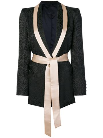 Blazé Milano Belted Jacket - Black