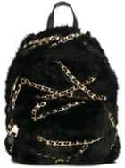 Moschino Faux Fur Backpack