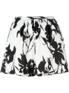Thakoon Floral Print Shorts