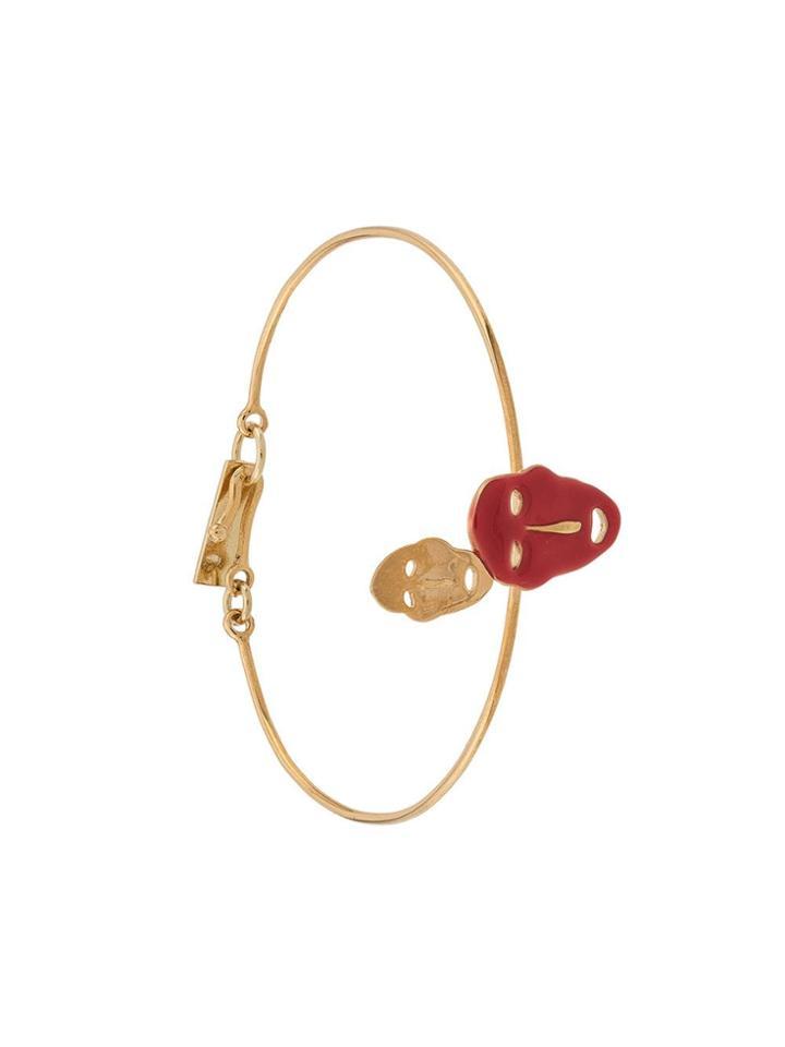 Isabel Marant Arnold Colour-block Bracelet - Gold