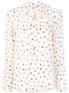 Msgm Frilled Sleeve Blouse - White