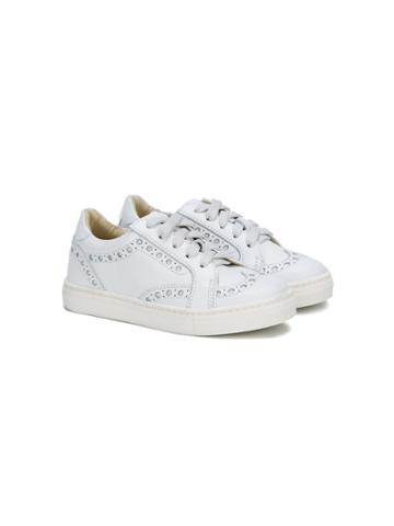 Montelpare Tradition Oxford Lace-up Sneakers - White