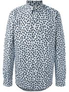 Ps Paul Smith 'mini Heart' Print Shirt