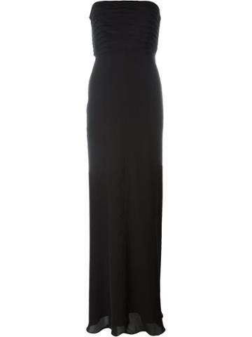 Armani Collezioni Strapless Gown