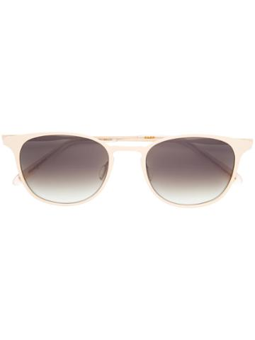 Garrett Leight - Kinney M Sunglasses - Unisex - Acetate/metal (other) - One Size, Nude/neutrals, Acetate/metal (other)