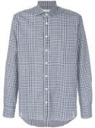Etro Gingham Shirt - Blue