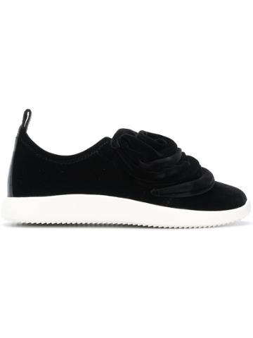 Giuseppe Zanotti Design Becca Sneakers - Black
