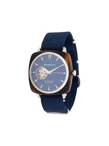 Briston Watches Clubmaster Iconic Watch - Blue
