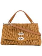 Zanellato - Woven Tote - Women - Straw/leather - One Size, Brown, Straw/leather