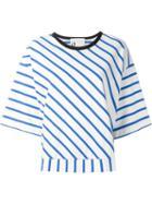 8pm Diagonal Stripe Knit Top