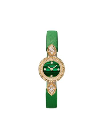 Boucheron 18kt Yellow Gold Serpent Bohème Diamond Watch - Yg