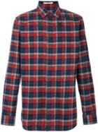 Givenchy Plaid Embroidered Shirt