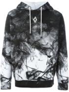 Marcelo Burlon County Of Milan Smoke Print Hoodie