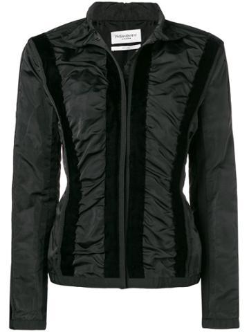 Yves Saint Laurent Vintage Ysl Jacket - Black