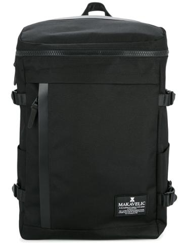 Makavelic Rectangle Daypack - Black