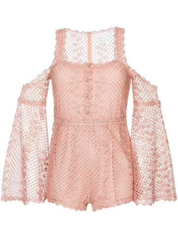 Alice Mccall Follow Me Playsuit - Pink