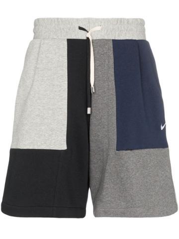 Clothsurgeon Nike Deconstructed Patchwork Shorts - Multicolour