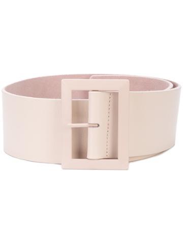 B-low The Belt Wide Buckle Belt - Pink & Purple